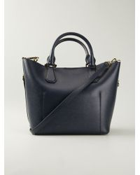 MICHAEL Michael Kors Greenwich Leather Tote - Lyst