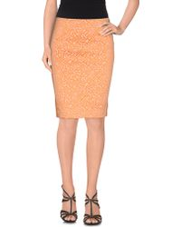 Patrizia Pepe Sera | Knee Length Skirt | Lyst