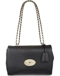 Mulberry Lily Glossy Goat Leather Bag - Lyst