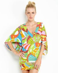 Trina Turk Santa Cruz Printed Cover-Up - Lyst