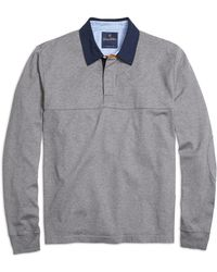 Brooks Brothers Quilted Yoke Rugby Shirt - Lyst