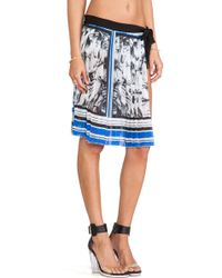 Clover Canyon Marble Party Coverup - Lyst