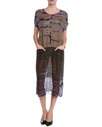 Raquel Allegra Boxy Dress - Lyst