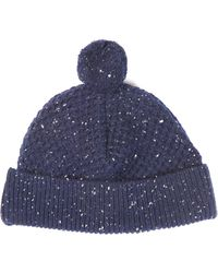 Oliver Spencer   Donegal Wool-knit Beanie Hat   Lyst