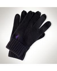 Polo Ralph Lauren - Merino Wool Glove - Lyst