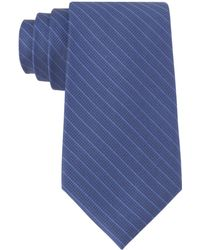 Calvin Klein Silk Grid Tie - Lyst