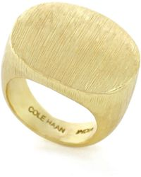 Cole Haan - Bang On Cocktail Ring - Lyst