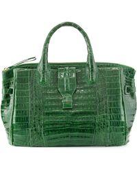 Nancy Gonzalez Medium Crocodile Tote Bag - Lyst