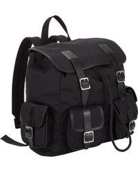 Saint Laurent Classic Backpack - Lyst