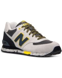 New Balance Men'S 574 Casual Sneakers From Finish Line - Lyst