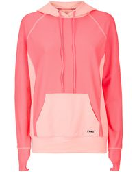 Juicy Couture Pouch Front Mesh Hoodie - Lyst