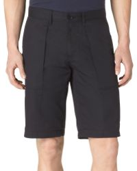 Calvin Klein Bedford Cord Patch Pocket Slim Fit Shorts - Lyst