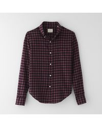 Band Of Outsiders Plaid Button Down Shirt - Lyst