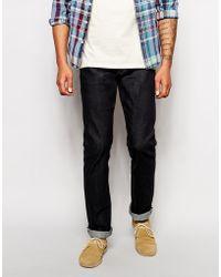 Unbranded | Jeans Ub122 Skinny Regular Fit 11Oz Stretch Selvedge Raw Indigo | Lyst