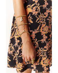 Vanessa Mooney The Dolly Arm Piece Bracelet gold - Lyst