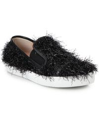 Boutique Moschino - Tinsel Skate Shoes - Lyst