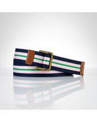 Polo Ralph Lauren Classic Striped Belt - Lyst