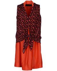 Sacaporter - Short Dress - Lyst
