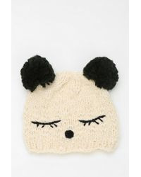 Urban Outfitters - Animal Ears Beanie - Lyst