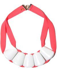 Marion Vidal | Fluro Ceramic Necklace | Lyst