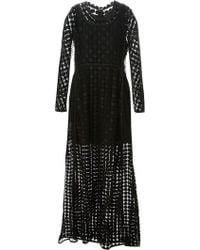 Chloé Black Evening Gown - Lyst