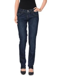 Hogan - Denim Trousers - Lyst
