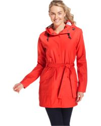 Helly Hansen Kirkwall Hooded Trench Coat - Lyst