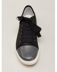 Lanvin Low Top Trainers - Lyst