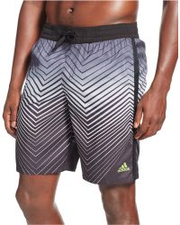 "Adidas Energy V Printed 9"" Volley Shorts black - Lyst"