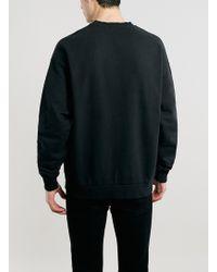 LAC - Washed Bk Nirvana Oversized Sweatshirt - Lyst