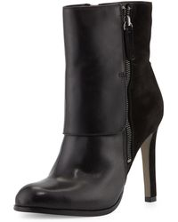 Pour La Victoire Tonia Leather Mid-Calf Boot - Lyst