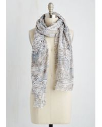 Ana Accessories Inc | Style A La Cartography Scarf | Lyst