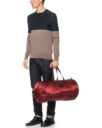 Marc By Marc Jacobs Shiny Twill Packable Duffel - Lyst