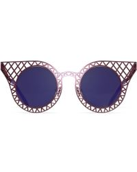 House of Holland Cagefighter purple - Lyst