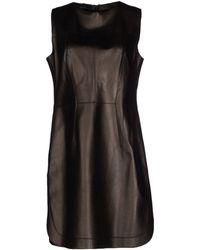 Les Soeurs - Short Dress - Lyst
