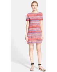 Tory Burch Cotton T-Shirt Dress - Lyst