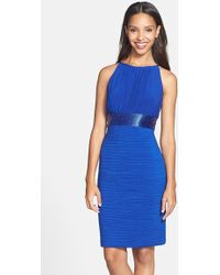JS Boutique | Beaded Waist Ruched Dress | Lyst