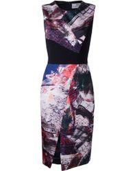 Prabal Gurung Shift Print Dress - Lyst