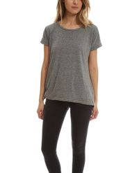 Current/Elliott | The Wrap Tee | Lyst
