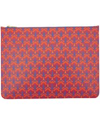 Liberty - Red Oversized Pouch - Lyst