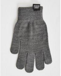 Cheap Monday - Cm Magic Gloves Grey Melange - Lyst