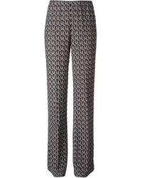 Missoni Wide Leg Patterned Trousers - Lyst