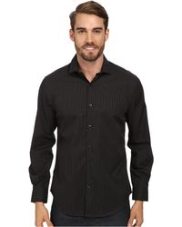 Perry Ellis Ls Check Pattern Non Iron Shirt - Lyst