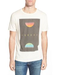 Project Social T - 'unreal' Graphic Crewneck T-shirt - Lyst