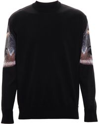 Givenchy Abstract Moth Jumper - Lyst