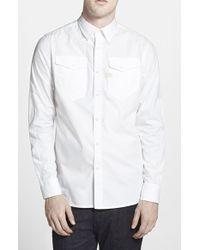 G-Star RAW Men'S 'Tacoma' Extra Trim Fit Oxford Shirt - Lyst