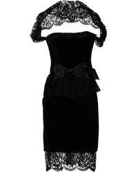 Esa Torazzi Short Dress - Lyst
