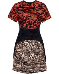 Proenza Schouler Structured Jacquard Dress - Lyst