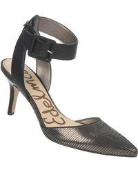 Sam Edelman Okala Leather Heels - Lyst