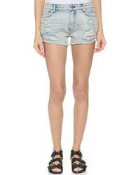 BLK DNM - Tomboy Jeans Shorts - Jackson Blue - Lyst